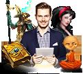 <span>Slot game</span><br>development studio